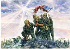 Italeri Iwo Jima Fahnenaufsteller (6098)