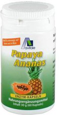 avitale Papaya Ananas Enzym Kapseln (60 Stk.)