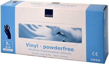 ABENA Handschuhe Vinyl Large Puderfrei Blau (100 Stk.)