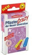 AXISIS Pflaster Crazy 4 Glitzerfarben (10 Stk.)