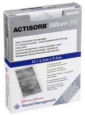 Eurim Actisorb 220 Silver 9,5 x 6,5 cm Steril Kompressen (10 Stk.)