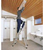 Zarges Z300 Stufen-Stehleiter 6 Stufen