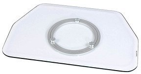 Hama LCD-/Plasma-TV-Drehteller, Glas, Klar (84026)
