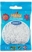 malte haaning Plastic Mini-Perlen 2000 Stück weiß (501-01)
