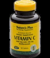 Nature's Plus Vitamin C+Bioflavonoiden 1000 mg Tabletten (90 Stk.)