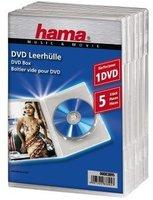 Hama DVD-Leerhülle 5, Transparent (83895)