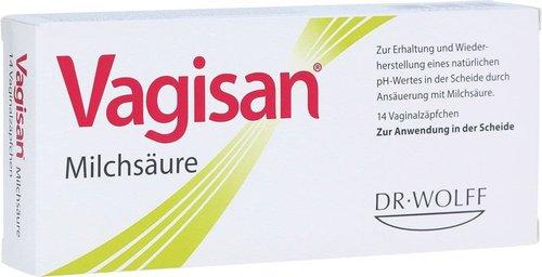 Dr. August Wolff Vagisan Milchsaeure Vaginalzäpfchen (PZN 0003441)