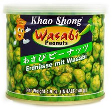 Khao Shong Wasabi Coated Peanuts (140 g)