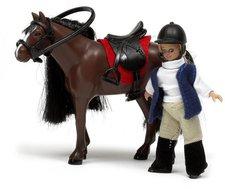 Lundby Smâland Pferd und Mädchen