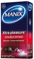 Manix Xtra Pleasure Kondome (12 Stk.)