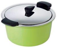 Kuhn Rikon Hotpan Servierkasserolle 22 cm grün