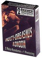 Secura Multi-Orgasmus Kondom Kondome (2 Stk.)