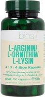 Bios L-Arginin/L-Ornithin/ L-Lysin Kapseln (100 Stk.)