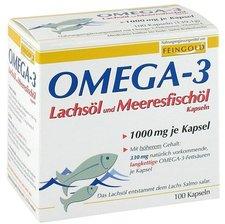 Burton Feingold Omega 3 Lachsöl Kapseln (100 Stk.)