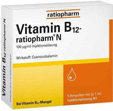 ratiopharm Vitamin B 12 Ratiopharm N Ampullen (5 x 1 ml)
