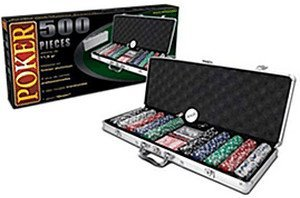 Poker Koffer 500 Chips / Jetons