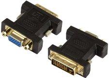 Mcab 7100030 DVI Adapter - DVI-I St -> VGA HD Dsub 15p Bu