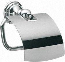 Emco classic Papierhalter mit Deckel chrom