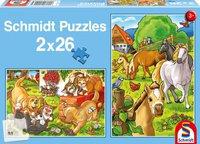 Schmidt Spiele Die liebsten Tiere (Hunde, Katzen, Pferde)