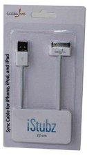CableJive iStubz USB-Dock Kabel 20cm