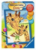Ravensburger Malen nach Zahlen Schmusende Giraffen