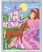 Ravensburger Malen nach Zahlen Die Prinzessin und ihr Fohlen