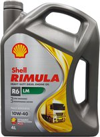 Shell Rimula R6 LM 10W-40 (4 l)