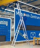 Zarges Z500 3-teilige Mehrzweckleiter 3x12 (41542)