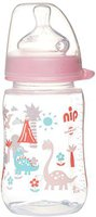 Nip Weithalsflasche 280 ml Silikon Gr.1 Milch Girl