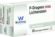Winthrop P Dragees Rosa (50 Stk.)