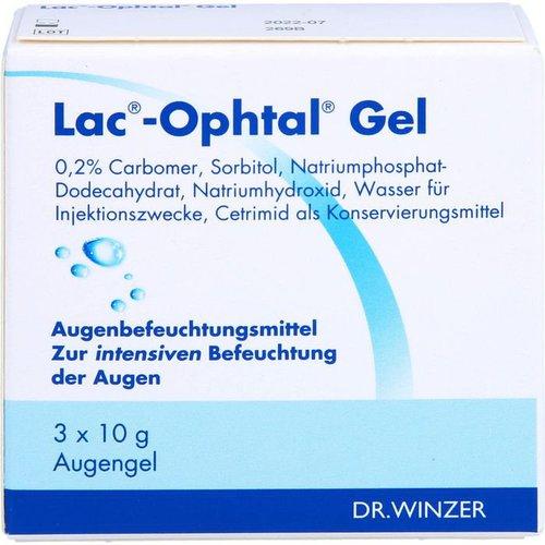 Dr. Winzer Lac Ophtal Gel (3X10ml) (PZN: 05385128)