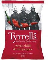 Tyrrell's Sweet Chilli & Red Pepper Crisps (150 g)