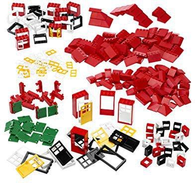 LEGO Education Türen, Fenster und Dachsteine 9243