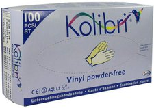 Igefa Kolibri Untersuchungshandschuhe Vinyl (100 Stk.)