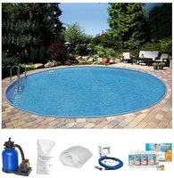 Summer Fun Ibiza Pool-Set 350x120cm 7-tlg