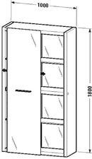 Duravit 2nd Floor Hochschrank 9158