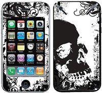 iCandy New Skin Grunge Skull für iPhone 3G