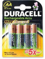 Duracell 4x HR06 StayCharged Mignon AA 2100mAh (203853)