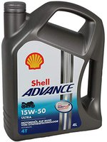 Shell Advance Ultra 4 15W-50 (4 l)