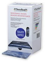 Thera Band Übungsband blau / extra stark (30 Stk. x 1,5 m) Dispenser