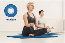 Flockan Pilates- und Yogamatte inkl. Ösen