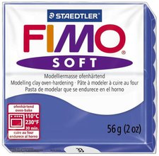 Fimo Soft Basisfarben brillantblau 56g