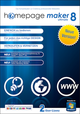 BHV Homepage Maker 8 Ultimate (Win) (DE)