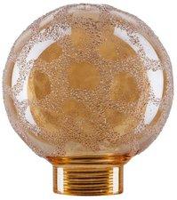 Paulmann Glas Globe Minihalogen Krokoeis Gold