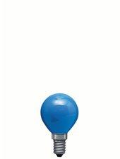 Paulmann Tropfenlampe 25W E14 75mm 45mm Blau