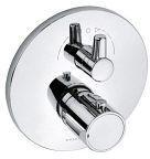 Kludi O-Cean Thermostat-Unterputzarmatur mit Absperrventil und Umstellung (388200545)