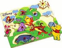 Eichhorn Winnie the Pooh Steckpuzzle (10 Teile)