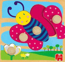 Jumbo Holzpuzzle Schmetterling