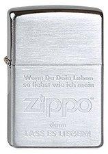 Zippo Slogans & Signs Lass es liegen!