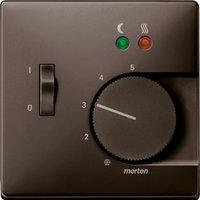 Merten Zentralplatte für Fußbodentemperaturregler-Einsatz mit Schalter (537515)